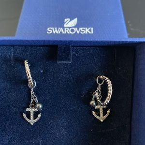 Swarovski sailor earrings